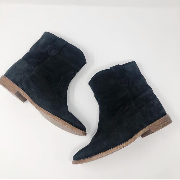 425d0139830 Isabel Marant Shoes - Isabel Marant Crisi Black Suede Boots 39